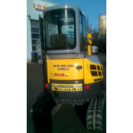 Miniexcavator New Holland E30.2SR second hand