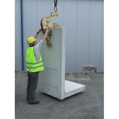 Dispozitiv de prindere pentru materiale din beton angulare WEZ-2