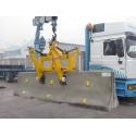 Cleste de ridicat parapeti despartitori pentru autostrazi BSZ-KH 4.5