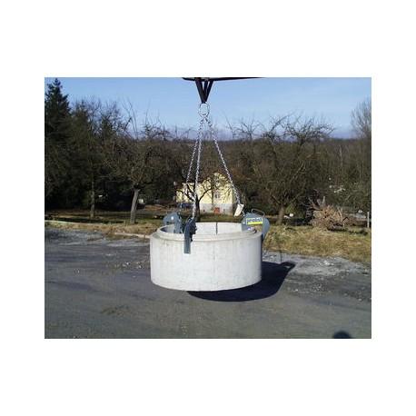 Cleste cu lant pentru camine de vizitare si conuri SRG-UNI-1,5-K