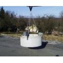 Cleste cu lant pentru camine de vizitare si conuri SRG-4