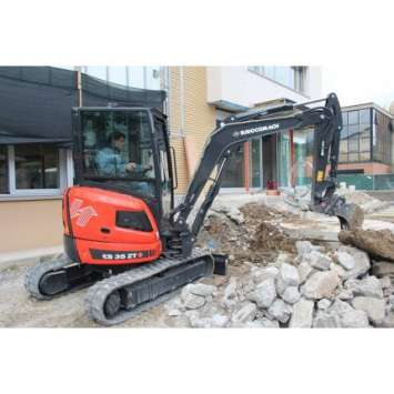 Miniexcavator second hand Eurocomach ES 35.2 ZT