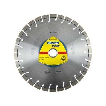 Disc diamantat pentru granit Klingspor DT 600 G Supra