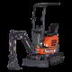 Mini excavator ES-10 ZT