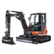 Mini-excavator ES-60 TR