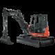 Mini-excavator ES-95 TR