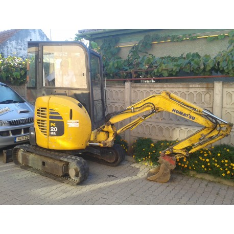 Mini-excavator compact Komatsu PC 20 MR second hand