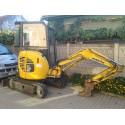 Mini-excavator compact Komatsu PC 20 MR
