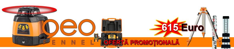 Set nivela laser FL 100HA Junior