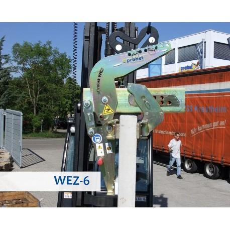 Dispozitiv de prindere pentru materiale din beton angulare WEZ-6