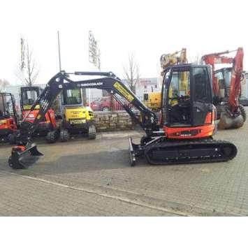 Miniexcavator second hand Eurocomach ES50ZT
