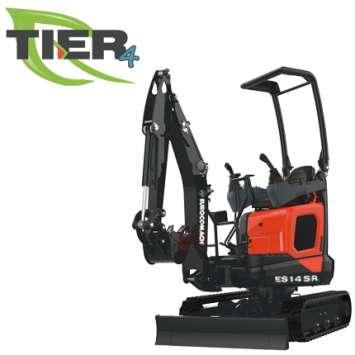 Mini-excavator Eurocomach ES 14 SR4