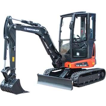 Mini-excavator Eurocomach ES 22 SR