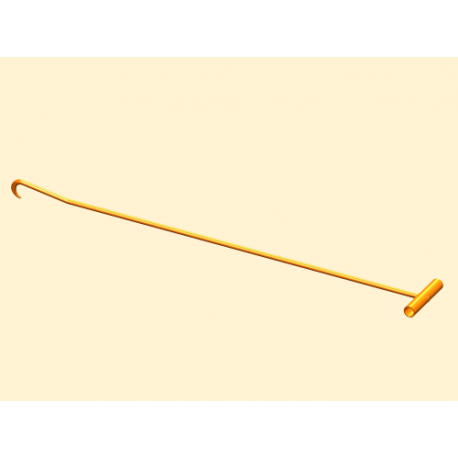 Carlig capac canal