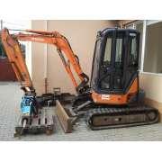 Excavator compact Hitachi ZX 35U-2 second hand